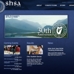 The front page to the SHSA.org redesign