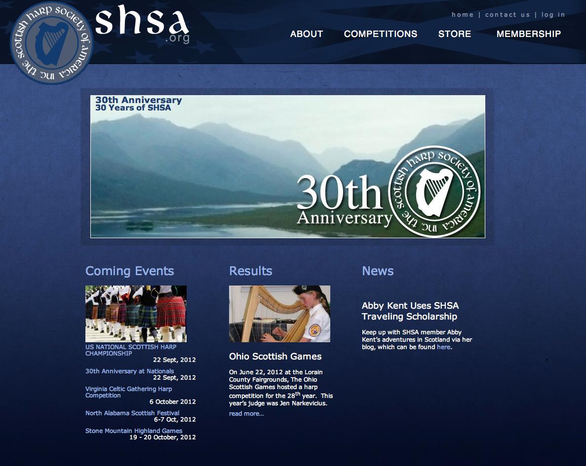 SHSA.org Before